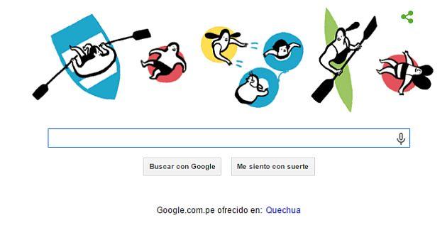 Google se pone playero con nuevo 'doodle'