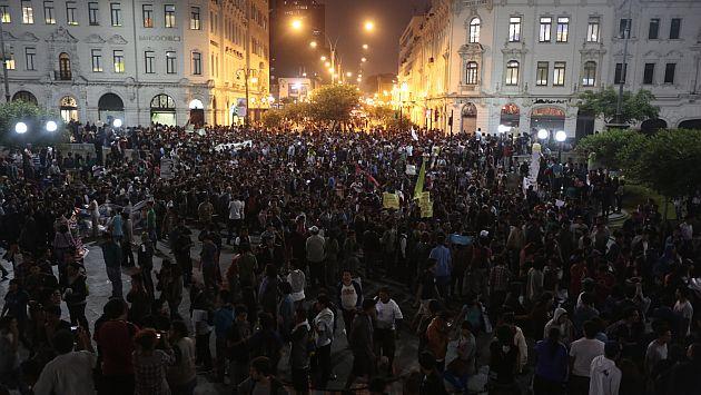 Anuncian nueva marcha para el lunes 22 contra la 'Ley Pulpín'