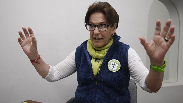 Susana Villarán y las obras inconclusas de su gestión al frente de Lima