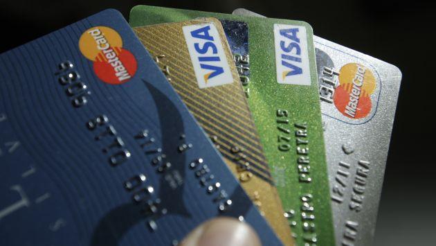 Tarjetas de crédito contarán con chip. (USI)