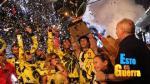 'Esto es guerra': 'Los leones' se coronaron campeones de la temporada