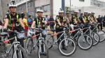Policías femeninas patrullarán calles en bicicleta y usarán cascos con cámara