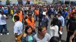 Cercado de Lima: Simulacro de sismo en galería Las Malvinas - Noticias de simulacro