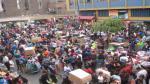 Mesa Redonda abarrotada por cientos de personas que compran a última hora - Noticias de jiron andahuaylas