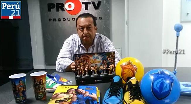 Lanzarán más productos del reality Esto es guerra. (Perú21)