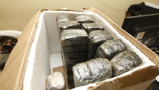 Malos agentes brindaban seguridad a mafias de narcotraficantes. (Mario Zapata)