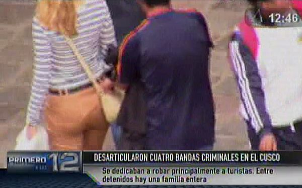Así operaban hampones en Cusco. (Canal N)