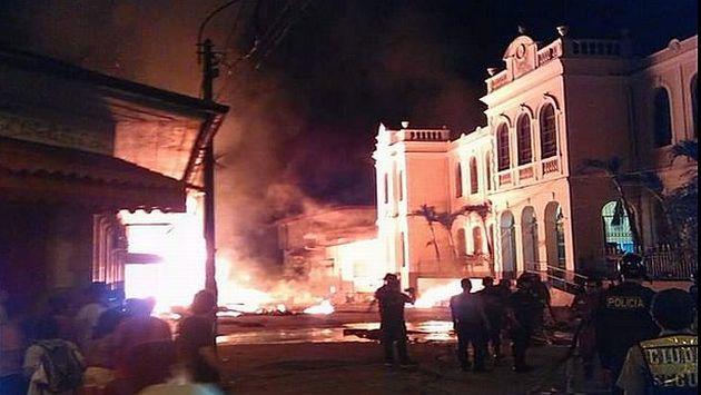 Templo de Nuestra Señora de la Consolación quedó dañado. (Twitter)