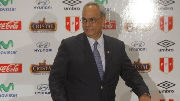 Manuel Burga entregará el cargo en enero. (David Vexelman)