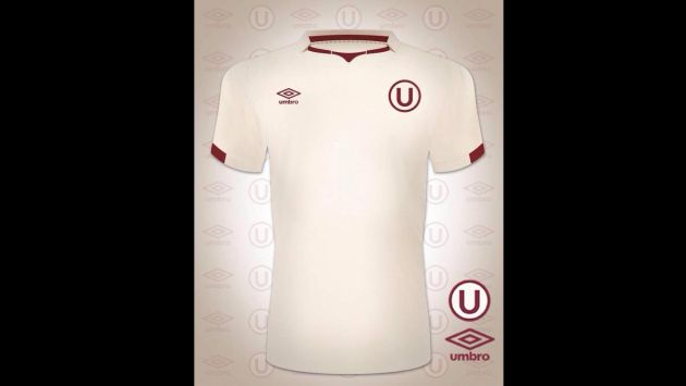 Nueva camiseta crema será presentada en los próximos días. (Twitter/Todo por la U)
