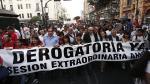 Régimen laboral juvenil: Oposición exigirá a Junta de Portavoces ver norma - Noticias de essalud
