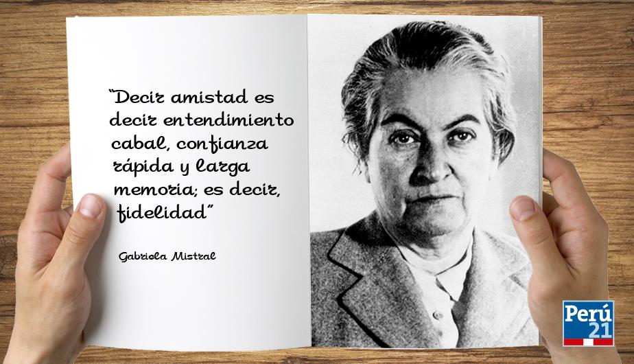 Gabriela Mistral poemas