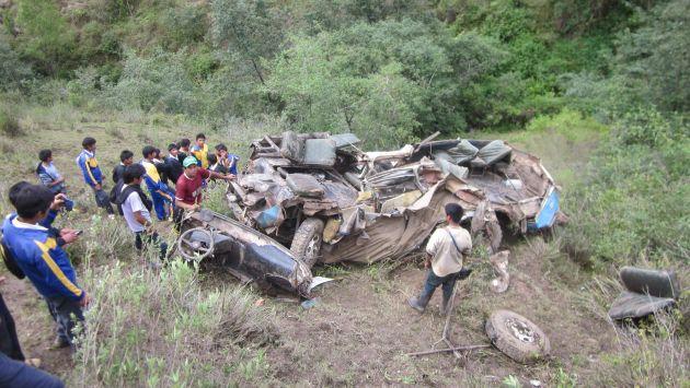 Unas 23 personas murieron tras caída de bus a un abismo del Cusco. (Imagen referencial/Archivo)