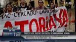 Ley Pulpín: Jóvenes protestaron en Plaza de Armas pese a que está prohibido - Noticias de centro juvenil