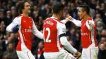 Arsenal goleó 3-0 al Stoke con doblete de Alexis Sánchez - Noticias de champions league