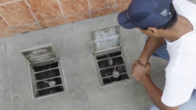 Sedapal denunció a personas que robaron agua y medidores. (USI)