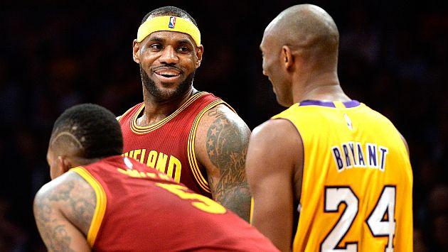 YouTube: Kobe Bryant se burla de LeBron James por fallar una canasta fácil