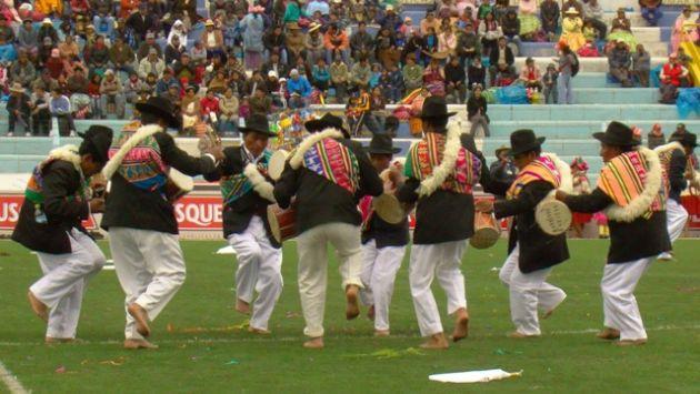 Danza Wifala San Francisco Javier de Muñani se representa varias veces al año. (Cortesía: pachamamaradio.org)