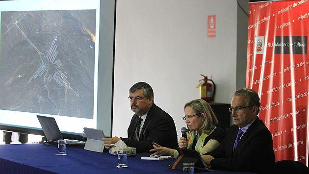 Perú pide a Greenpeace asumir costo de reparación de daños a las Líneas de Nasca. (EFE)