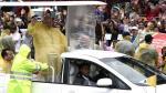 Papa Francisco se reunió con víctimas de tifón en Filipinas pese a tormenta - Noticias de haiyan