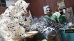 Richard Miñano, un artista para el medio ambiente - Noticias de exposición a peligro
