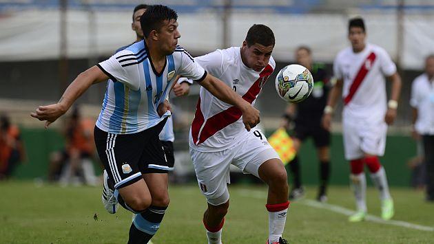 Sudamericano Sub 20: Perú perdió 2-0 ante Argentina