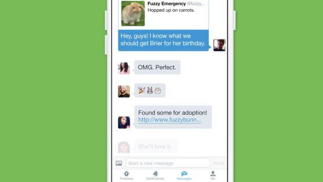 Twitter lanzó novedades: Mensajes directos en grupo y grabación de videos