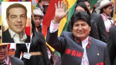 Evo Morales, Alexis Tsipras