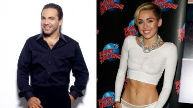 Miley Cyrus, Cristian Castro