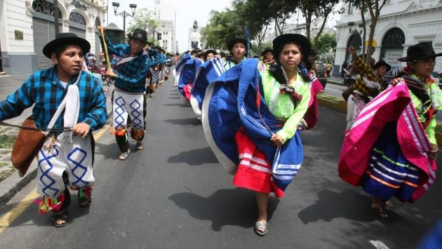Carnaval de Ayacucho. Cientos viajan para participar de celebración. (USI)