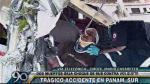 Panamericana Sur: Un muerto tras choque de bus contra un volquete - Noticias de choque de buses