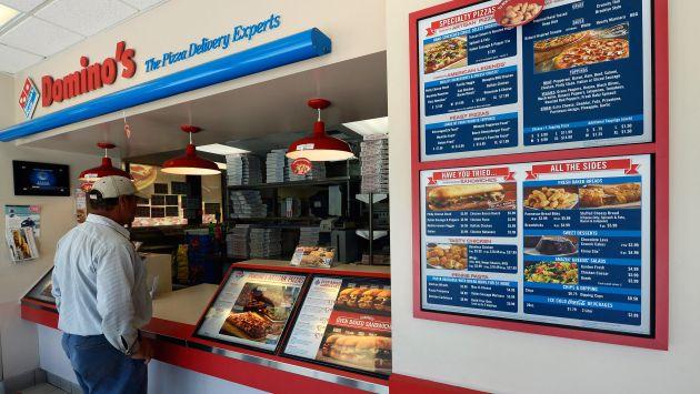 Domino's Pizza se pronunció por problemas en locales de Perú. (AFP)