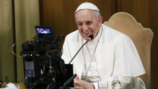 Papa Francisco utilizó herramienta de Google para acercarse a niños. (Reuters)