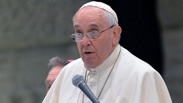 Papa Francisco defendió que un padre golpee a su hijo para corregirlo. (EFE)