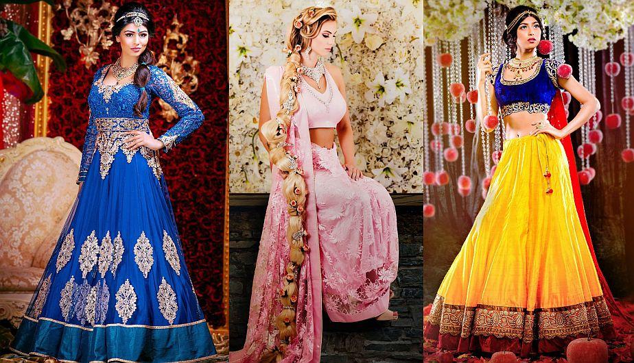 Princesas Disney: ¿Cómo lucirían vestidas de novia al estilo hindú ...