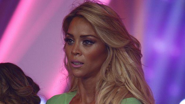 Sheyla Rojas ofreció fuertes declaraciones contra Antonio Pavón. (Trome)