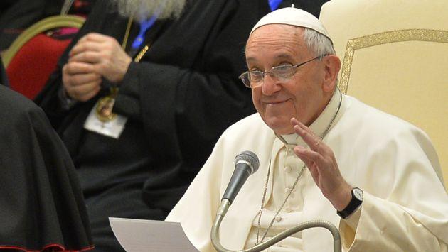 Papa Francisco tuvo un encuentro con el cardenal Cipriani. (AFP)