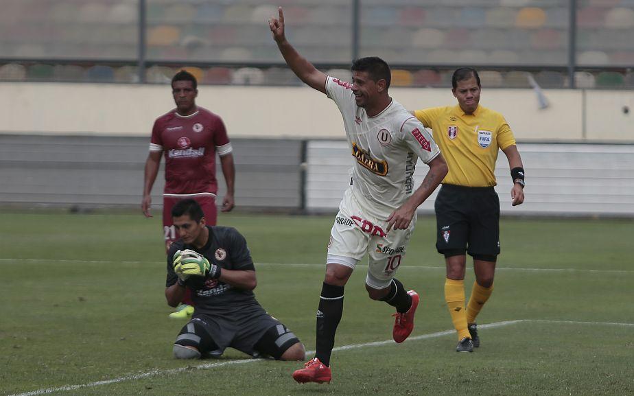 Universitario venció 1-0 a León de Huánuco en su debut en el Torneo del Inca. (Martín Pauca)