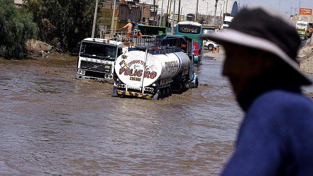 Declaran en emergencia a seis provincias por intensas lluvias en Arequipa. (Heiner Aparicio)