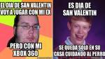 Día de San Valentín: Los memes sobre los 'forever alone' - Noticias de aldo figueroa