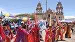 Cajamarca: Más de 10 mil turistas llegaron para disfrutar del carnaval - Noticias de carnavales de cajamarca