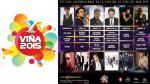 Viña del Mar 2015: ¿Qué artistas se presentarán en el festival? - Noticias de accidente Óscar d' león