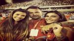 Paolo Guerrero y Alondra García Miró disfrutaron del Carnaval de Río - Noticias de barbara evans