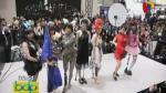 Japón: Mujeres con piernas ortopédicas participan en desfile de moda - Noticias de japón