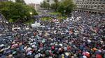 Alberto Nisman: Multitudinaria 'Marcha del Silencio' a un mes de su muerte - Noticias de sandra corrales