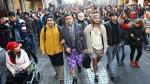 Turquía: Hombres marchan contra la violencia sexista vistiendo falda - Noticias de violencia contra la mujer