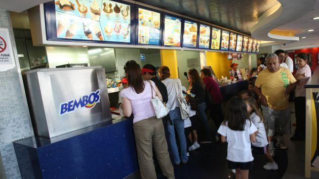 Bembos venderá hamburguesas  pese al cierre temporal de la planta de  Bimbo en Perú. (Rafael Cornejo)