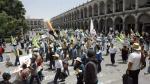 Arequipa: Antimineros marcharon contra el proyecto cuprífero Tía María - Noticias de resolución ministerial