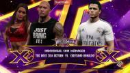 Cristiano Ronaldo pelea en el ring de Wrestlemania con La Roca por el amor de Irina Shayk. (Captura YouTube)