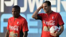 Jefferson Farfán, Claudio Pizarro